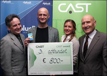 UKD-HP-pic-130128-CAST-Award-Mathes_Neuner_Prantner_Froehlich_3-Platz-fin